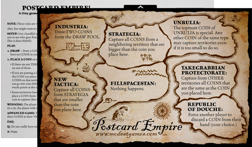 The Postcard Empire game